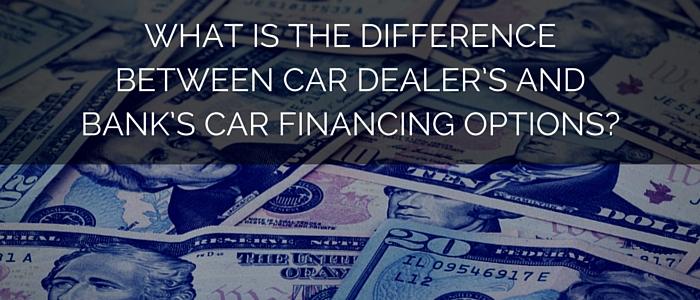 should i finance my car loan via car dealers or banks car tips. Black Bedroom Furniture Sets. Home Design Ideas