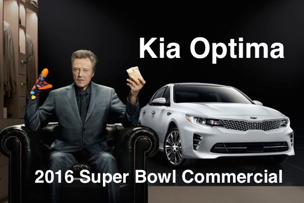 2016 Kia Optima Super Bowl Commercial