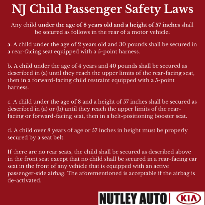 Nj Car Seat Laws Everything You Need To Know Car Tips