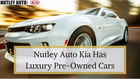 The Best Used Luxury Cars At Nutley Auto Kia Newark Used Cars
